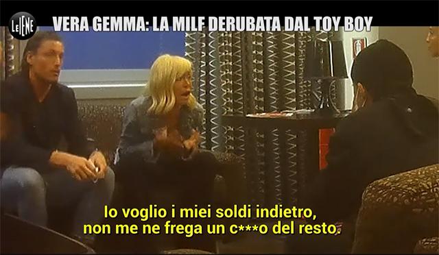 Vera, acompañada de Gennaro Lillio, se enfrenta a Jeda tras lo ocurrido