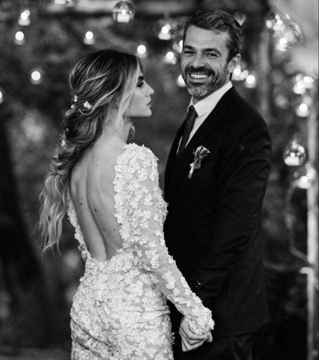 Alle nozze di Luca Argentero e Cristina Marino c'era un solo invitato famoso: ecco chi