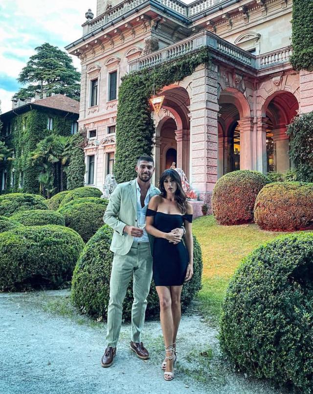 Cecilia Rodriguez e Ignazio Moser bellissimi all'evento sul lago di Como: foto