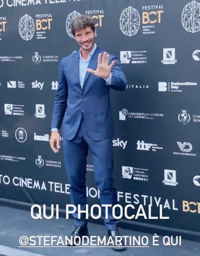 Stefano De Martino debutta da attore al cinema: 'Farò un film'