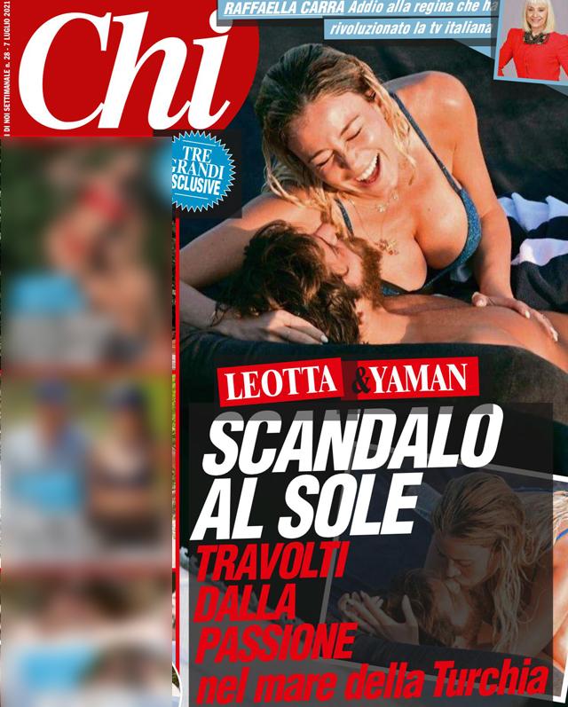 Diletta Leotta e Can Yaman avvinghiati sulla barca: le foto bollenti della coppia