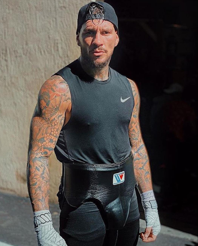 Il pugile Daniele Scardina, conosciuto anche come King Toretto