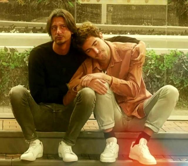 Francesco Oppini, 39 anni, e Tommaso Zorzi, 26, nella Casa del GF Vip