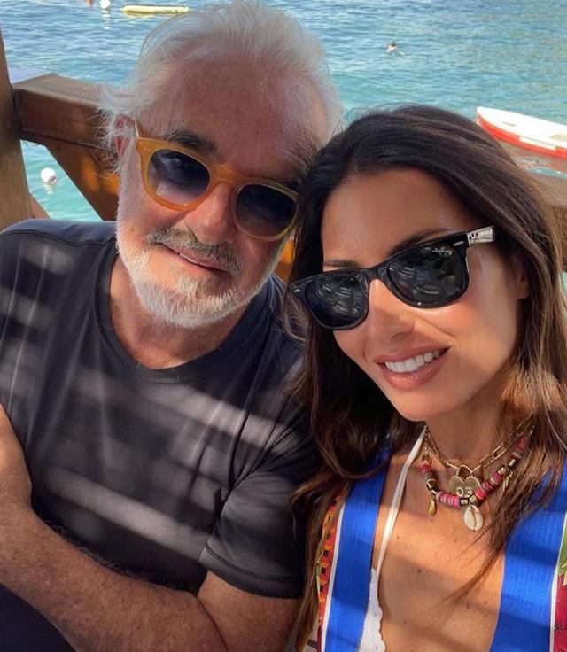 Elisabetta Gregoraci e Flavio Briatore a Capri insieme mano nella mano: ritorno di fiamma?