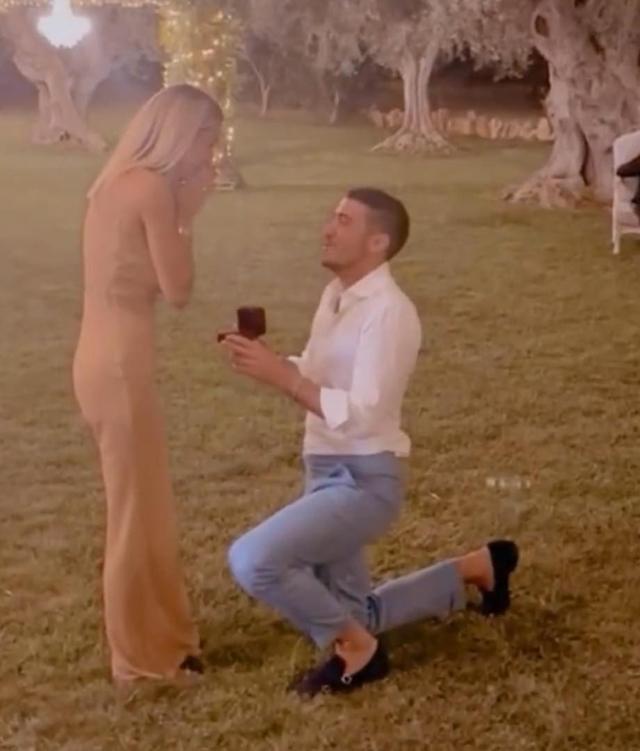 Sabrina Ghio, la romantica proposta di nozze finisce sul social