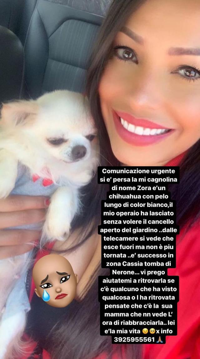 L'appello social dell'ex gieffina di origini venezuelane