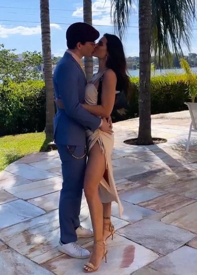 Dayane Mello in Brasile trova l'amore, il bacio col nuovo fidanzato: ecco chi è