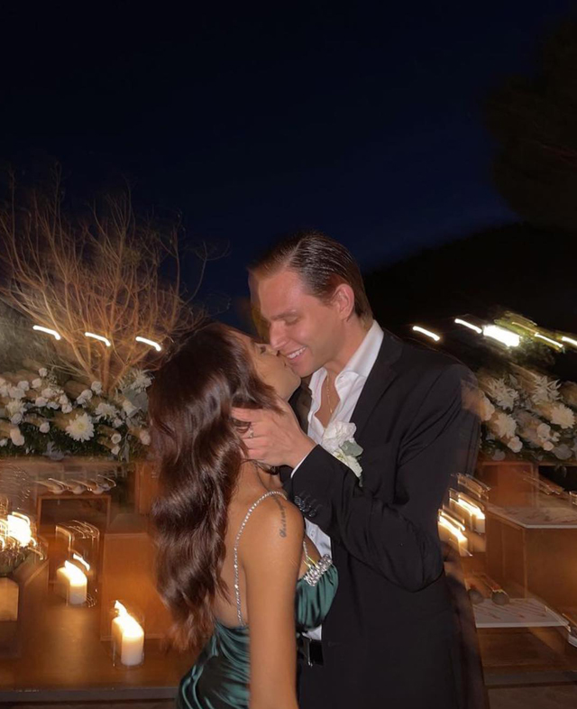 Giulia De Lellis e Carlo Beretta, prove di matrimonio alle nozze della sorella: foto