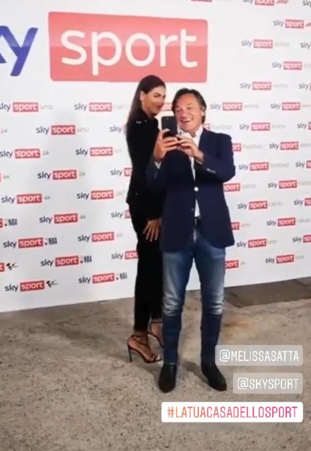 Melissa Satta torna in tv: è il nuovo volto di Sky Sport