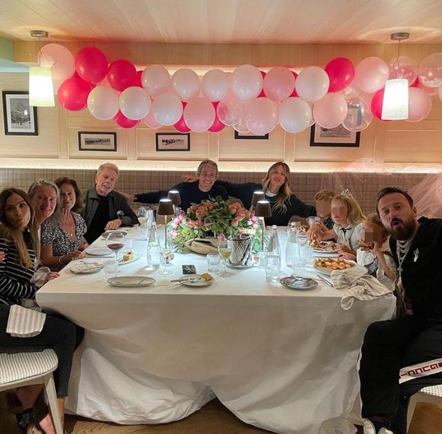 Alessia Marcuzzi, per i 10 anni della figlia festa con la famiglia allargata: il regalo prezioso del papà