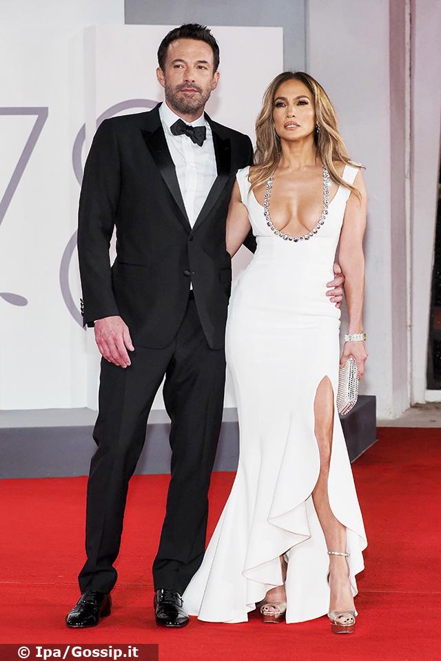 La coppia è apparsa bellissima sul red carpet
