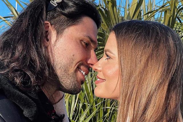 Luca Onestini con Ivana, 29 anni, ai tempi della loro relazione