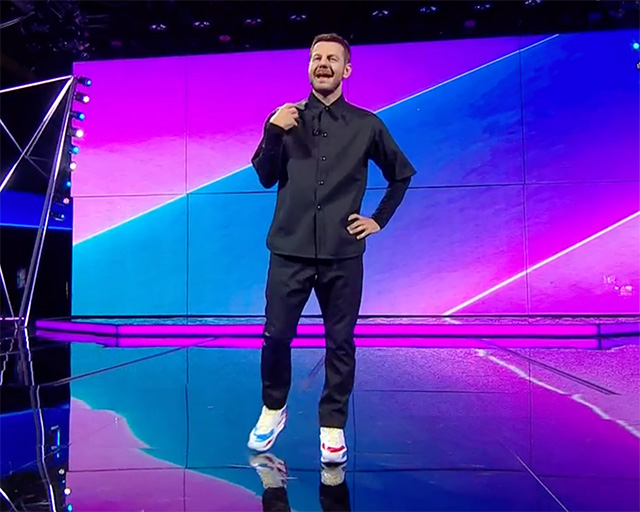 Die erste Folge der Show 'Da Grande', das Rai-Debüt von Alessandro Cattelan, wurde am Sonntag, 19. September, ausgestrahlt
