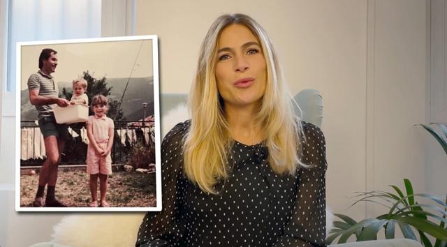 Eleonora Pedron in lacrime: 'Provo ancora rabbia per la morte di mio padre'