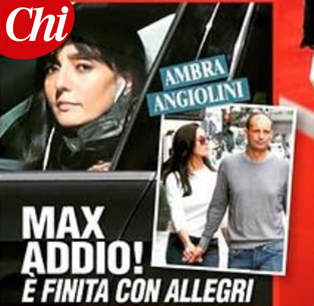 Ambra Angiolini e Massimiliano Allegri si sono lasciati? I motivi che avrebbero portato alla rottura