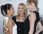 Melanie Griffith con Rosanna Arquette ed Eva Longoria