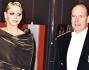 Alberto e Charlene all\'Opera Grimaldi Forum di Monaco