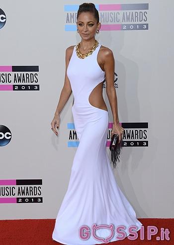 il red carpet stellare degli american music awards 2013