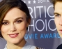 Keira Knightley e James Righton per la ventesima edizione dei Critics Choice Awards