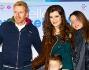 Kaspar Capparoni e Veronica Maccarrone con la famiglia