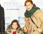 Michela Andreozzi con la nipote e Massimiliano Vado