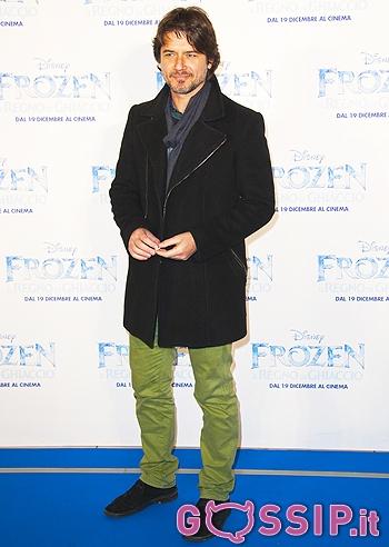 ed Enrico Brignano presentano 'Frozen - Il Regno di Ghiaccio': foto