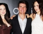 Tom Cruise con le bellissime Andrea Riseborough ed Olga Kurylenko