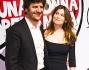 Fabio De Luigi e Laetitia Casta sul red carpet di 'Una donna per amica'