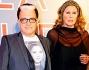 Cristiano Maglioglio con Ursula Andress alla premiere di \'La pelle che abito\'