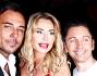 Antonio Brosio, Valeria Marini e Gianluca Mech