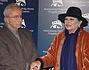 Lucia Bosé con il maestro Michelangelo Antonioni