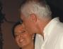 Franco Oppini con la moglie Ada Alberti