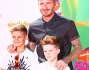 David Beckham sul red carpet insieme ai figli Romeo e Cruz ad Hollywood