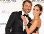 Alessia Reato con il fidanzato Massimiliano Dendi