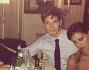 A cena dopo la serata: Belen e Stefano con Christian De Sica e la figlia Maria Rosa