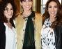 Alessia ventura, Morena Salvino e Gioia MArzocchi all'evento Le Silla durante la Fashion Week