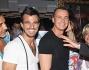 Beppe Convertini con Luca Dorigo e Rocco Casalino