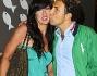 Emanuela Aureli ed il fidanzato Sergio