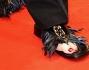 Infradito piumate per Tilda Swinton sul red carpet di The Grand Budapest Hotel