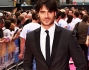 Giulio Berruti sul red carpet del film 'Walking on sunshine'