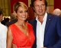 Simona Ventura con Gian Gerolamo Carraro