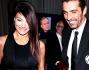 Ilaria D'Amico e Gigi Buffon arrivano sorridenti insieme al Gran Gala del calcio Aic