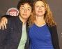 Amanda Sandrelli con il figlio