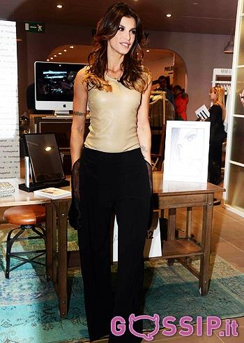 Elisabetta canalis presenta a milano calibro 12 le foto for Designer di gioielli
