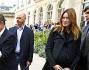 Carla Bruni accompagna il marito Nicolas Sarkozy