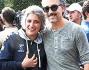 Beppe Fiorello e Paola Concia