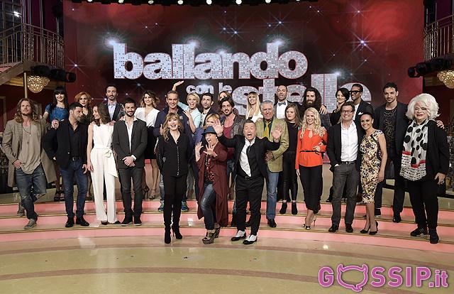 Il Cast di Ballando con le Stelle 2016