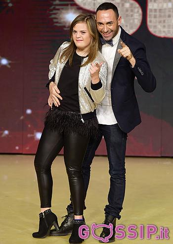 Nicole Orlando e Stefano Oradei