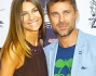 Fabio Fulco e Cristina Chiabotto sul red carpet dell'evento Nespresso