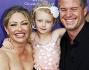 Eric Dane e Rebecca Gayheart posano sul red carpet insieme alla figlia Billie